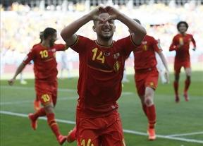 Los 'diablos rojos' belgas remontan con los suplentes ante Argelia (2-1)