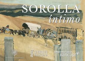 Sorolla, al desnudo en 32 bocetos de 'Visión España'
