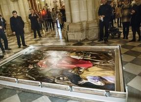'El Expolio' de El Greco ya está de vuelta en la catedral de Toledo