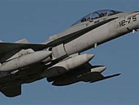 Un avión francés realiza el primer disparo en la operación contra Gadafi