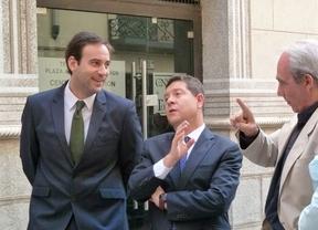 García-Page, este lunes, en un acto en el Consorcio de Toledo