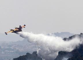 Encuentran el cadáver del piloto del helicóptero desaparecido en el incendio de Valencia