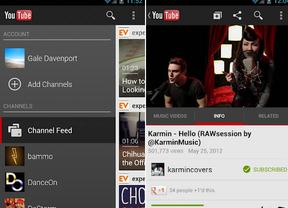 La aplicación de YouTube para Android permitirá ver vídeos offline