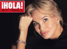 La princesa Corinna 'no quiere ser una celebridad'... en la portada de 'Hola'
