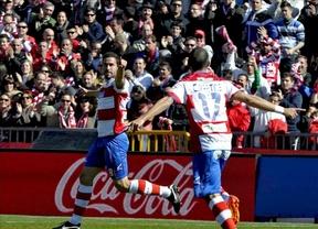 El Granada sigue con su racha y vence al Real Sociedad (4-1) en los Cármenes