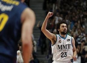 Liga ACB: el Madrid asusta al Barça en el aperitivo de su cita en la Final a Cuatro (78-65)