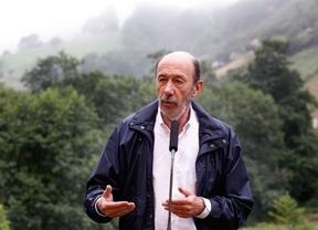 Rubalcaba reta al PP a ponerle una demanda: han cobrado sobresueldos 'de dinero tan negro como el carbón de Asturias'