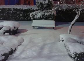 La nieve alcanza entre los 20 y los 40 centímetros en Cuenca