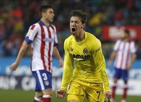 Sin Frente Atlético, sin incidentes y... sin victoria: el 'submarino amarillo' emerge en el Manzanares y pesca tres puntos (0-1)