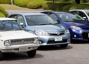 Distintos modelos del Toyota Corolla