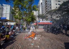 El Mundial comienza con disturbios, siete heridos en las manifestaciones de Sao Paulo e insultos a Dilma en la inauguración