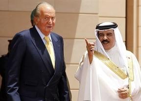 El Rey, ahora en Bahrein, presume de nuevo de un crecimiento