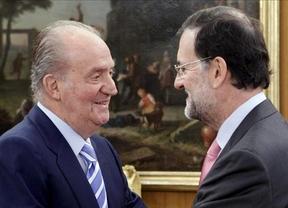 Rajoy cierra sus vacaciones con la habitual reunión con el Rey, esta vez sin comparecer ante los medios