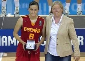 Histórica hazaña de Ángela Salvadores: endosa 40 puntos a EEUU y es elegida 'Jugadora Más Valiosa' del Mundial sub'17
