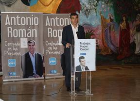 Antonio Román (PP): 'mi única ambición' es 'seguir trabajando' por Guadalajara