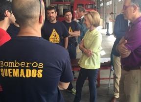 Rosa Díez pregunta al Gobierno por la situación laboral de los bomberos en España