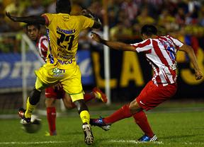 Salvio hace de Falcao y con su doblete cierra la exitosa gira atlética en Colombia (1-3)