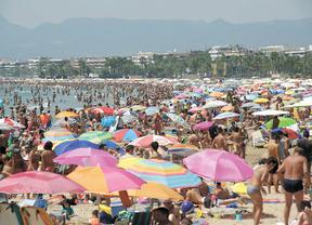 España recibió 42,3 millones de turistas internacionales hasta agosto, un 4,5% más