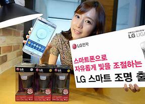 LG presenta su bombilla inteligente que se conecta con el móvil