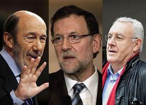 El PP se desploma, pero el PSOE también ante el avance electoral de IU y UPyD, según el sondeo de la SER
