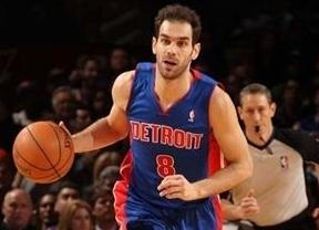 NBA: los desaciertos en el tiro de Calderón arrastran a 'sus' Pistons ante Atlanta Hawks (103-114)