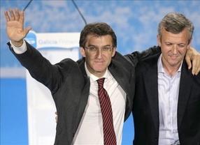 Galicia vuelve a repetir la historia de las generales: arrasa el PP con mayoría absoluta; se descalabra el PSOE