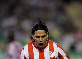 El Atlético, con un Falcao