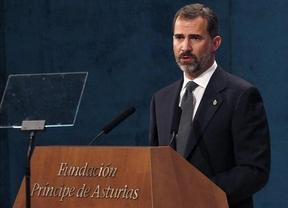 El Príncipe hace un llamamiento para defender los recursos públicos y... la nación española