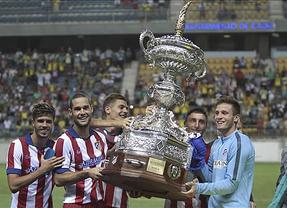 El Atleti consigue su noveno Trofeo Carranza tras vencer a la Sampdoria (2-0)