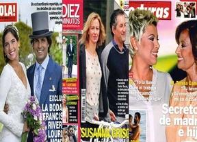 La Boda de Fran y Lourdes y los Príncipes llenan las revistas esta semana