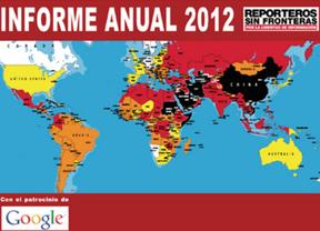 Informe de Reporteros sin Fronteras: 90 periodistas y 48 internautas, asesinados en 2012