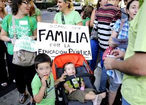 El PP marca a los colaboradores de la 'marea verde' docente
