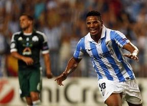 El 'Euromálaga' busca el el infierno griego subir al cielo de la Champions defendiendo el 2-0 de La Rosaleda