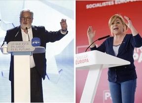 Cañete y Valenciano tratarán de convencer a los votantes en su 'cara a cara' televisado