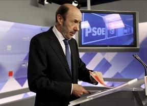 Rubalcaba suspende la reunión en Sonseca y la lleva a Madrid
