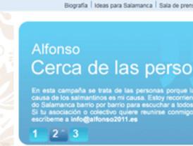 Mañueco presenta su nueva página web www.alfonso2011.es