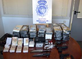 Detenidos cuando huían tras robar a tiros cuatro kilos de cocaína a un grupo de narcotraficantes