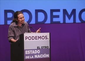 Pablo Iglesias se erige como líder de la oposición y reivindica el patriotismo frente a