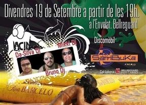 El Ayuntamiento de Bellreguard (Valencia) patrocina una pelea de barro entre mujeres