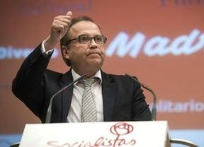 Carmona no oculta la división socialista: