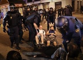 Este 15-M arranca con 8 detenidos en el desalojo de la Puerta del Sol