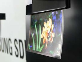 Samsung presenta sus nuevas pantallas flexibles