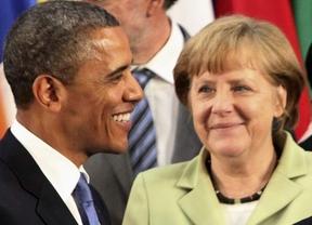 Obama, Merkel y Putin, los más poderosos