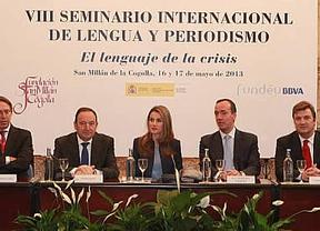 La Princesa de Asturias pide llamar a las cosas por su nombre: 'No es lo mismo decir ayudas que rescate'