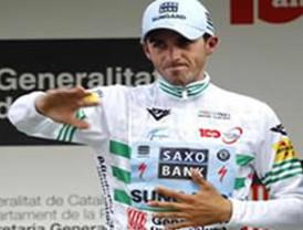 Contador conserva el maillot de líder en la Vuelta a Cataluña