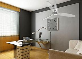 Los ventiladores de techo se revelan como ecológicos, estéticos y saludables