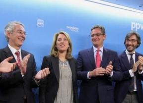 Quiroga, ratificada como presidenta del PP vasco con el apoyo del 72,8% de los votos