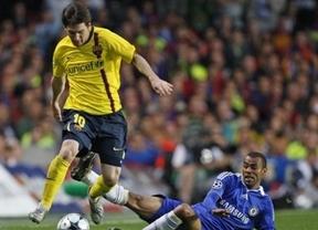 El Chelsea adelanta al Barça en el marcador (1-0) tras un gol de Drogba