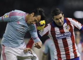 El tridente no le funcionó a Simeone y el Atlético se deja media Liga en Vigo ante el mejor Celta de la temporada(2-0)