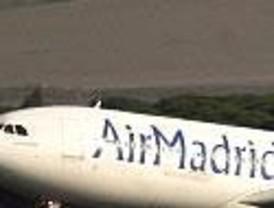 Air Madrid renovó a principios de año su licencia pese a que sólo disponía de 2,4 millones de euros